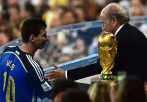 Ter Stegen: I felt sorry for Messi